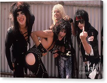 Motley Crue Canvas Print by David Plastik
