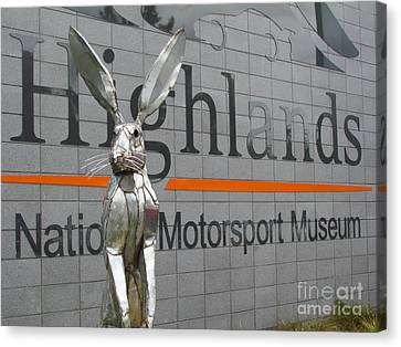 Motorsport Museum Canvas Print by Joyce Woodhouse