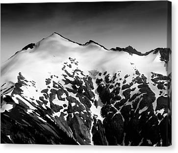 Mount Ruth In The Washington Cascade Mountains Canvas Print by Brendan Reals