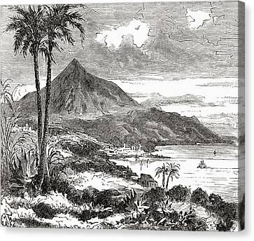 Mount Teide, Tenerife, Canary Islands Canvas Print by Vintage Design Pics