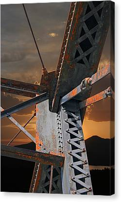 Mountain Iron Canvas Print by Carver Kearney