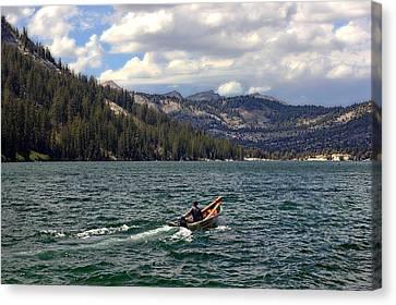 Mountain Lake Canvas Print by Gary King
