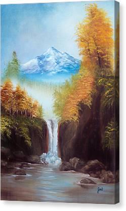 Mountain Majesty Canvas Print by Joni McPherson