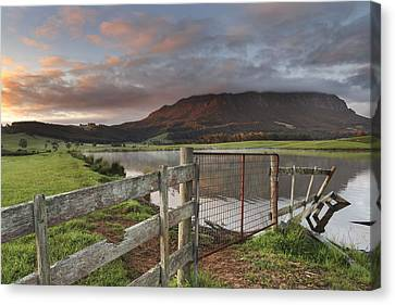 Mountain Spirits Canvas Print by Claire Walsh