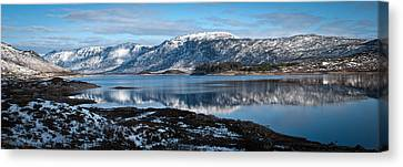 Mountain Tranquillity  Canvas Print by Chris Boulton