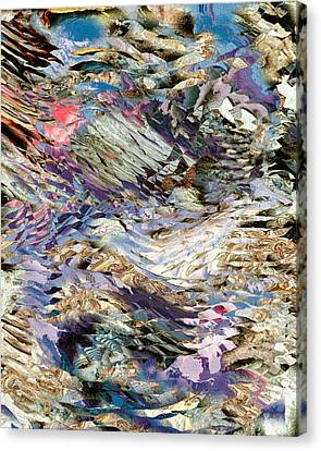 Mountains  Canvas Print by Oksana Linde