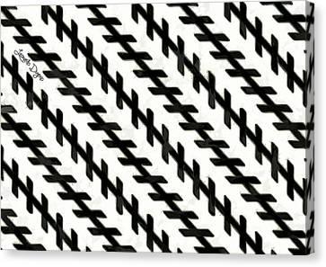 Moving Illusion Canvas Print by Leonardo Digenio