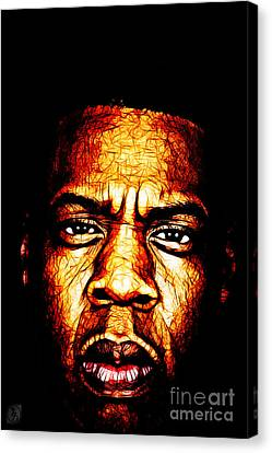 Mr Carter Canvas Print by The DigArtisT