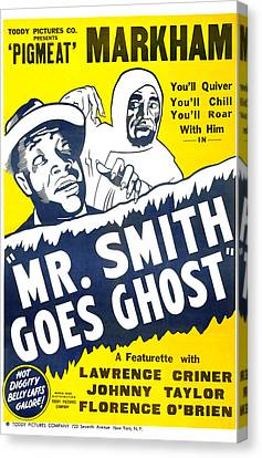 Mr Smith Goes Ghost 1939 Canvas Print by Mountain Dreams