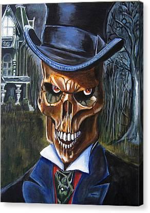 Mr. Styx Canvas Print by Chris Benice