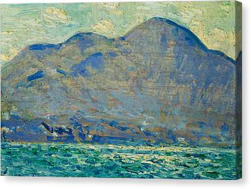 Mt. Beacon At Newburgh Canvas Print by Childe Hassam