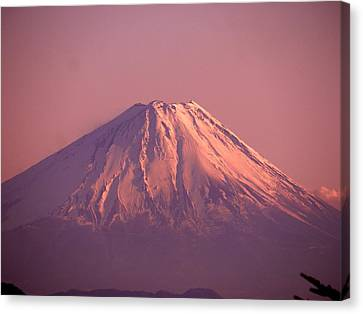 Mt. Fuji, Yamanashi,japan Canvas Print by Juno808