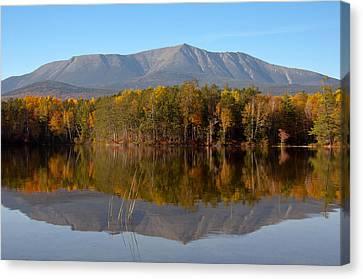 Mt Katahdin Baxter State Park Fall 1 Canvas Print by Glenn Gordon