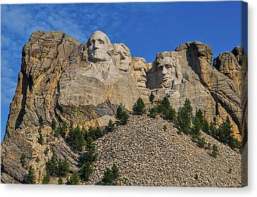 Mount Rushmore-2 Canvas Print by Thomas J Rhodes