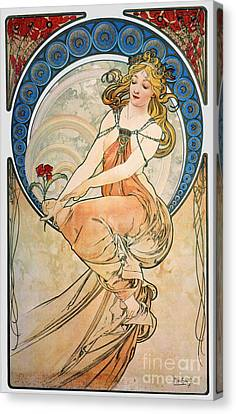 Mucha: Poster, 1898 Canvas Print by Granger