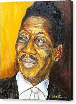 Muddy Waters Canvas Print by Michael Titherington