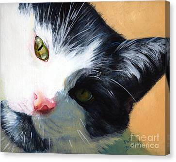 Muff Canvas Print by Pat Burns