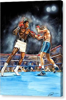 Muhammad Ali Canvas Print by Dave Olsen