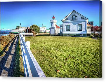 Mukilteo Landing Canvas Print by Spencer McDonald