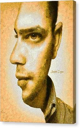 Multi Face - Da Canvas Print by Leonardo Digenio