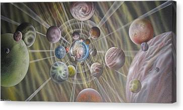 Multiverse 582 Canvas Print by Sam Del Russi