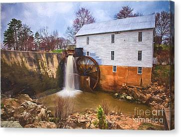 Murrays Mill II Canvas Print by Dan Carmichael