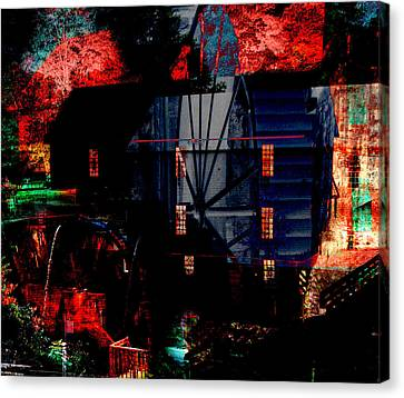 Murrays Mill Revisited Canvas Print by MW Robbins
