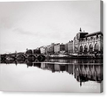 Museum Of Orsay  Canvas Print by Vicky Ceelen