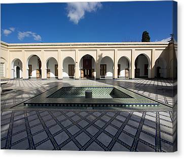 Musee Du Batha In Fes, Moulay Yacoub Canvas Print by Panoramic Images