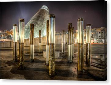 Museum Of Glass Canvas Print by Robby Green