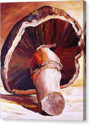 Mushroom Still Life Canvas Print by Toni Grote