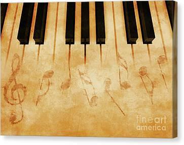 Music Canvas Print by Giordano Aita