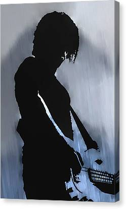 Music Man  Canvas Print by Randy Steele