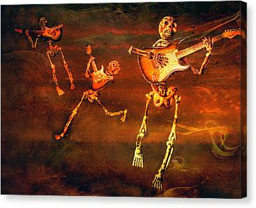Music Of The Souls Canvas Print by Jeff Gettis