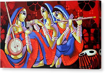 Music Canvas Print by Sekhar Roy