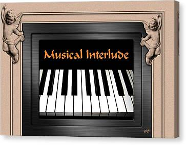 Musical Interlude Canvas Print by Will Borden