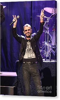 Musician Ringo Starr  Canvas Print by Front Row Photographs