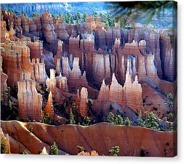 Muted Bryce Canvas Print by Marty Koch