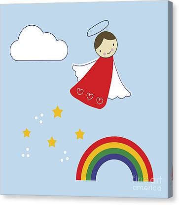 Over The Rainbow Canvas Print by Kathrin Legg