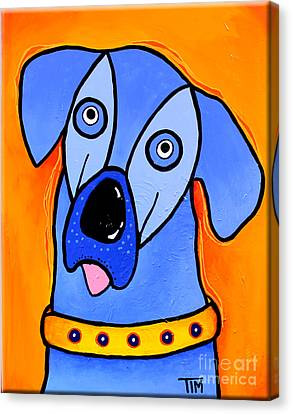 My Brother Is Blue Too Canvas Print by Tim Ross
