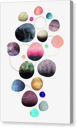 My Favorite Pebbles Canvas Print by Elisabeth Fredriksson