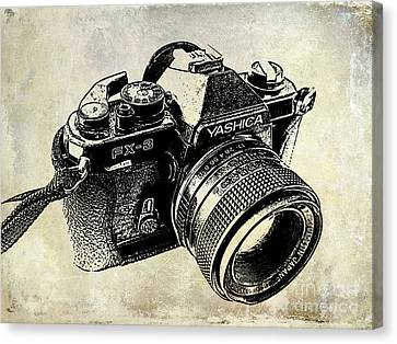 My First Camera Canvas Print by Jon Neidert