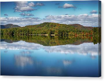 My Golden Pond Canvas Print by John Haldane