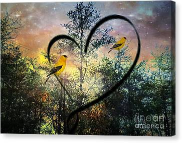 My Heart Sings Wildly Canvas Print by Maria Urso