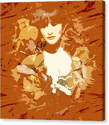 My Lady Of The Wood Canvas Print by James Granberry