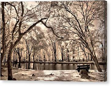 My Lake Canvas Print by Mario Bennet