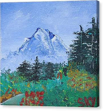 My Mountain Wonder Canvas Print by Jera Sky