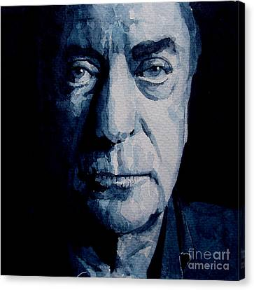 My Name Is Michael Caine Canvas Print by Paul Lovering