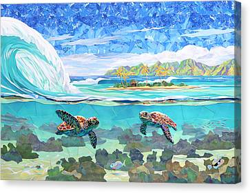 My Place Canvas Print by Patrick Parker