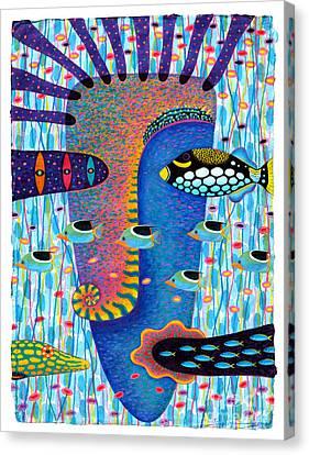 My Self 1 Canvas Print by Opas Chotiphantawanon
